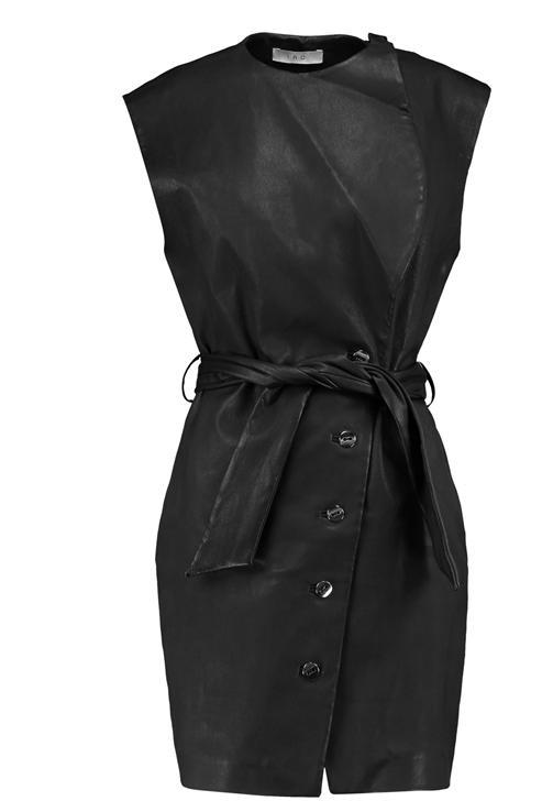 Nuevo Con Etiquetas  1650 vestido de cuero  Iro haryssa FR 34  venta directa de fábrica