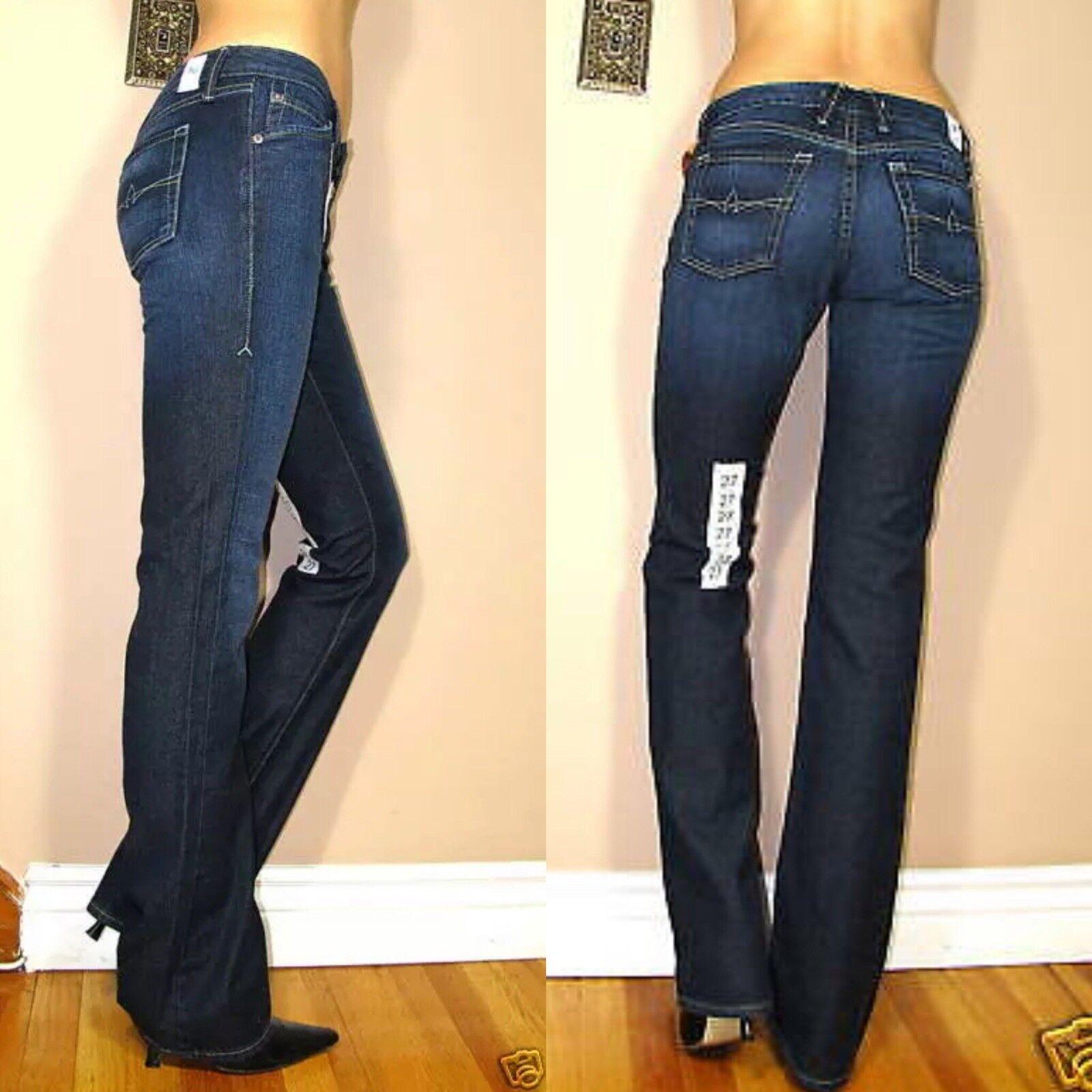 225 Agave Sirena Slim Bootcut in Beverly Hills Cashmere X-Soft Dark Jeans 25