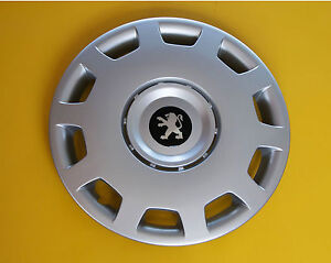 15 peugeot 206 306 605 partner expert wheel trims covers hub caps quantity 4 ebay. Black Bedroom Furniture Sets. Home Design Ideas