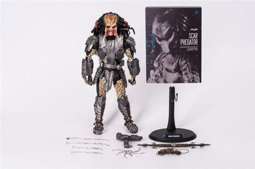 HC TOYS Alien VS Predator Scar Predator MMS190 1//6 Scale Action Figure New 32cm