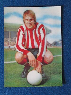 SOUTHAMPTON RON DAVIES A/&BC-FOOTBALL 1972 ORANGE//RED BACK-#091