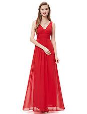 Bridesmaid Dresses Long Chiffon Formal Party Evening Dress 08110 Ever Pretty US