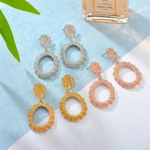 Women Boho Circle Geometric Drop Dangle Earring Ear Jewelry Gift T