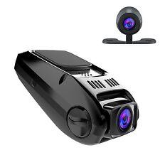 APEMAN Dash Cam in Auto a Doppia Fotocamera DVR 170 ° Obiettivo grandangolare