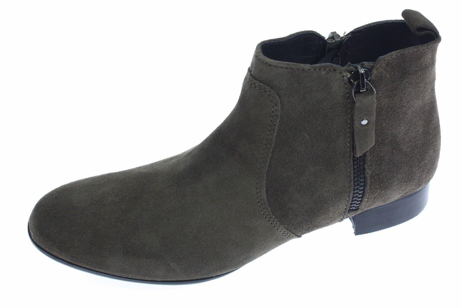 Arnaldo Toscani Damen Leder Ankle Stiefel, Größe 38, Braun-Beige  | Qualifizierte Herstellung