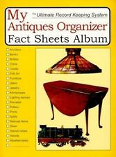 My Antiques Organizer Fact Sheets Album by Hobby House Press