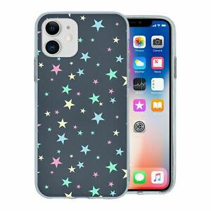 For-Apple-iPhone-11-Silicone-Case-Stars-Pattern-S3851