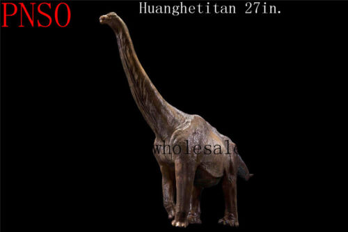 Pnso Rare Huanghetitan Giant Dinosaurs Model Toy Scientific Art 27/'/' Figure Gift