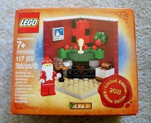 LEGO-Holiday-Christmas-Rare-2011-3300002-New-amp-Sealed-Ready-to-Ship