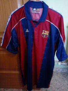 Detalles de Camiseta FC Barcelona 1993 1994 Kappa Dream Team Soccer Vintage Barça