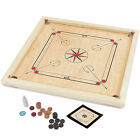 Garden Games Carrom Board Set 85 X 85cm Beautifully Hand Finished With Solid