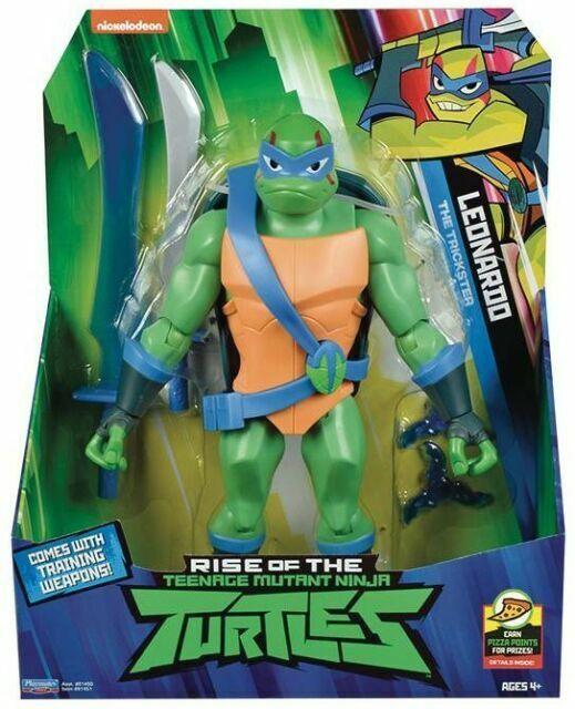 Rise Of The Teenage Mutant Ninja Turtle Leonardo Giant Figure For