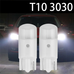 2x-T10-194-168-W5W-Wedge-3030-SMD-LED-White-Bulbs-Interior-Map-Dome-Light-2