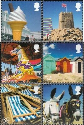 kompl.ausg. Never Hinged 2007 Urlaub Sophisticated Technologies Unmounted Mint Großbritannien 2519-2524