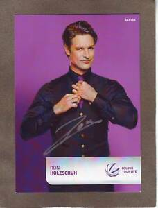 Ron-HOLZSCHUH-dt-TV-Schauspieler-034-Eine-wie-keine-034-Original-Autogramm
