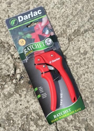 DARLAC DP174 Standard puissante Action De Cliquet Sécateur-Max Cut 18 mm