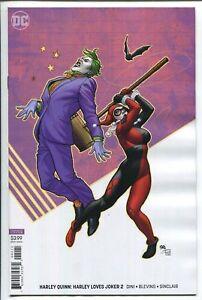 Harley-Loves-Joker-2-Frank-Cho-Variant-DC-Comic-1st-Print-2018-unread-NM