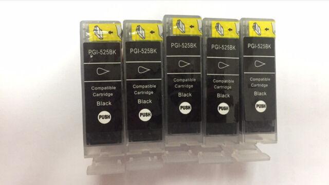 10x Ink Cartridge PGI525 Black for Canon MG5250 MG5350 MG6150 MG6250 MX885 MX715