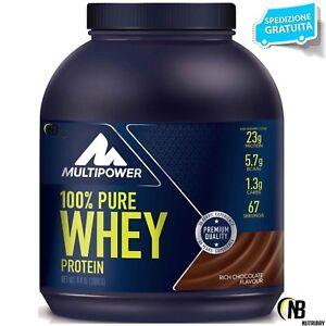 MULTIPOWER-100-Pure-Whey-Protein-2000-2-kg-Siero-del-Latte-OMAGGIO-SCITEC