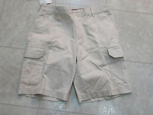 814f1a881b New With Tags Izod Mens Cargo Shorts-Color-Stone-Size-32 | eBay