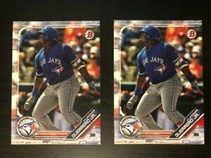 2 card lot VLADIMIR GUERRERO JR 2019 Bowman and Paper Card Toronto Blue Jays