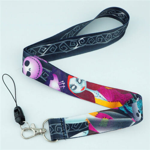 The Nightmare Before Christmas Neck Straps Lanyard Mobile Phone Rope Keychain