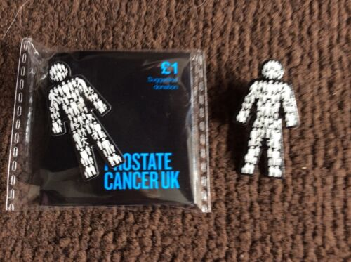 5x MEN UNITED PROSTATE CANCER UK Pin badges ВЈ14.95 **OFFICIAL PCUK FUNDRAISERS*