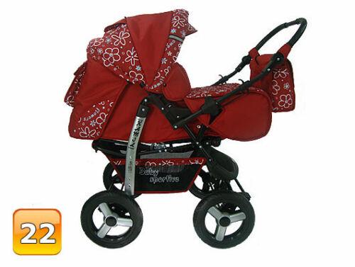 Car seat Carrycot Buggy Travel system Baby Pram Stroller Pushchair