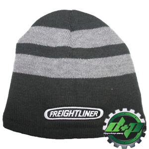 Image is loading freightliner-Beanie-Stocking-cap-hat-trucker-FLEECE-lined- 5724cd096f51