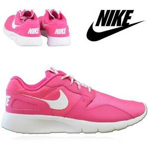 Nike Pink Ladies Girls  Sports School Sports Gym Running Shoes UK 3 ... 7aeccd121