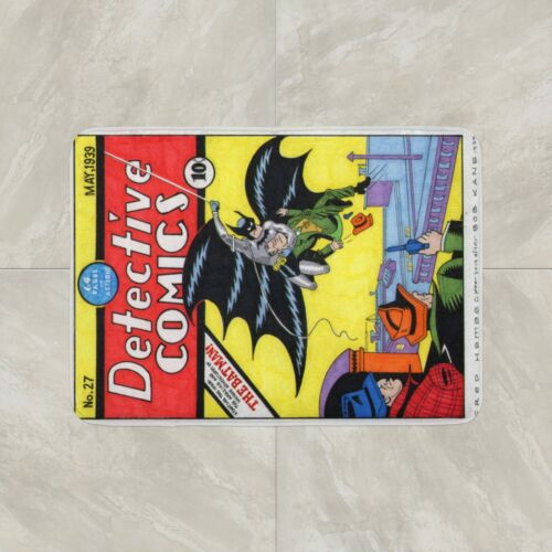 First Appearance of Batman Rug Mat Floor Door Detective Comics #27 May 1939