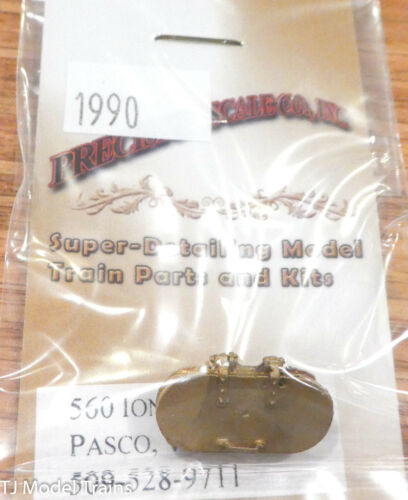 Precision Scale S #1990 Hatch Brass D/&RGW K-37 Water Type for