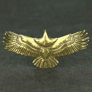 Chinese-Brass-Eagle-Statue-Small-Pendant-Birthday-Xmas-Gifts-Present-Pocket-Toys