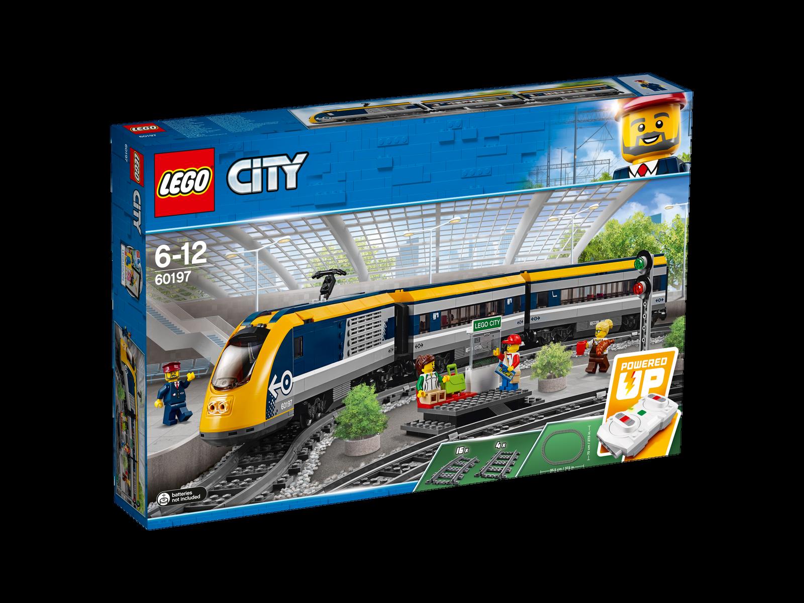 LEGO ® City 60197 train de passagers Nouveau neuf dans sa boîte _ Passenger Train NEW En parfait état, dans sa boîte scellée Boîte d'origine jamais ouverte