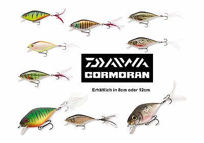 Team Cormoran SICK SHAKER 80mm chrome perch Wobbler