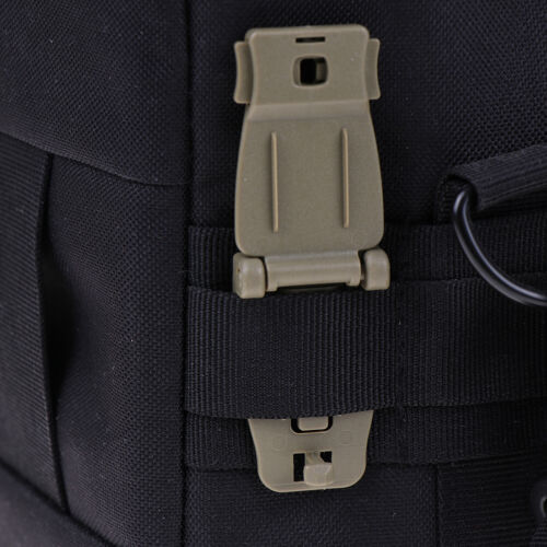 Molle Strap Rucksack Tasche Gurtband Verbindungsschnalle Clip Rucksack Zube DI