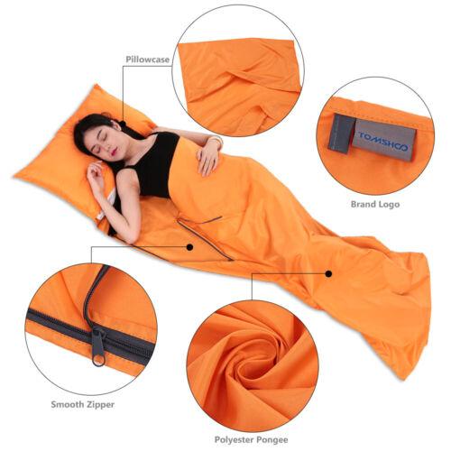 Outdoor Camping Sleeping Bag Portable Travel Hiking Emergency Survival Backpack