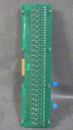 0AC5A RELAYS 20 CROUZET CORP 24 SLOT CHILLER RELAY BOARD PLC 57-560//A WITH