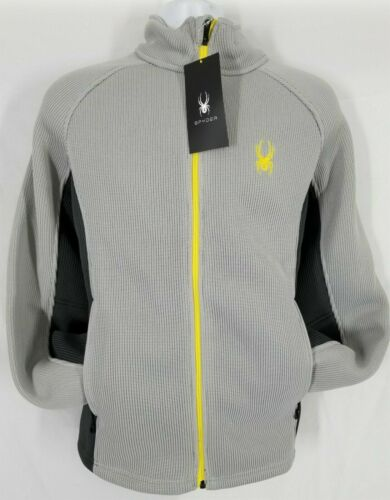 NWT Men/'s Spyder Foremost Full Zip Jacket Stryke Sweater