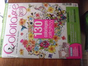 8µ? Revue Coloriage Zen N°12 130 Coloriage Anti Stress Prix ModéRé