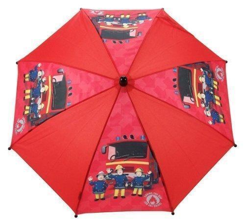 Fireman Sam Umbrella Red Jupiter Fire Engine