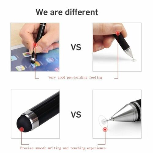 USPS 2 Pack Fine Point Stylus Touch Screen Pen for iPhone iPad Samsung Tablet