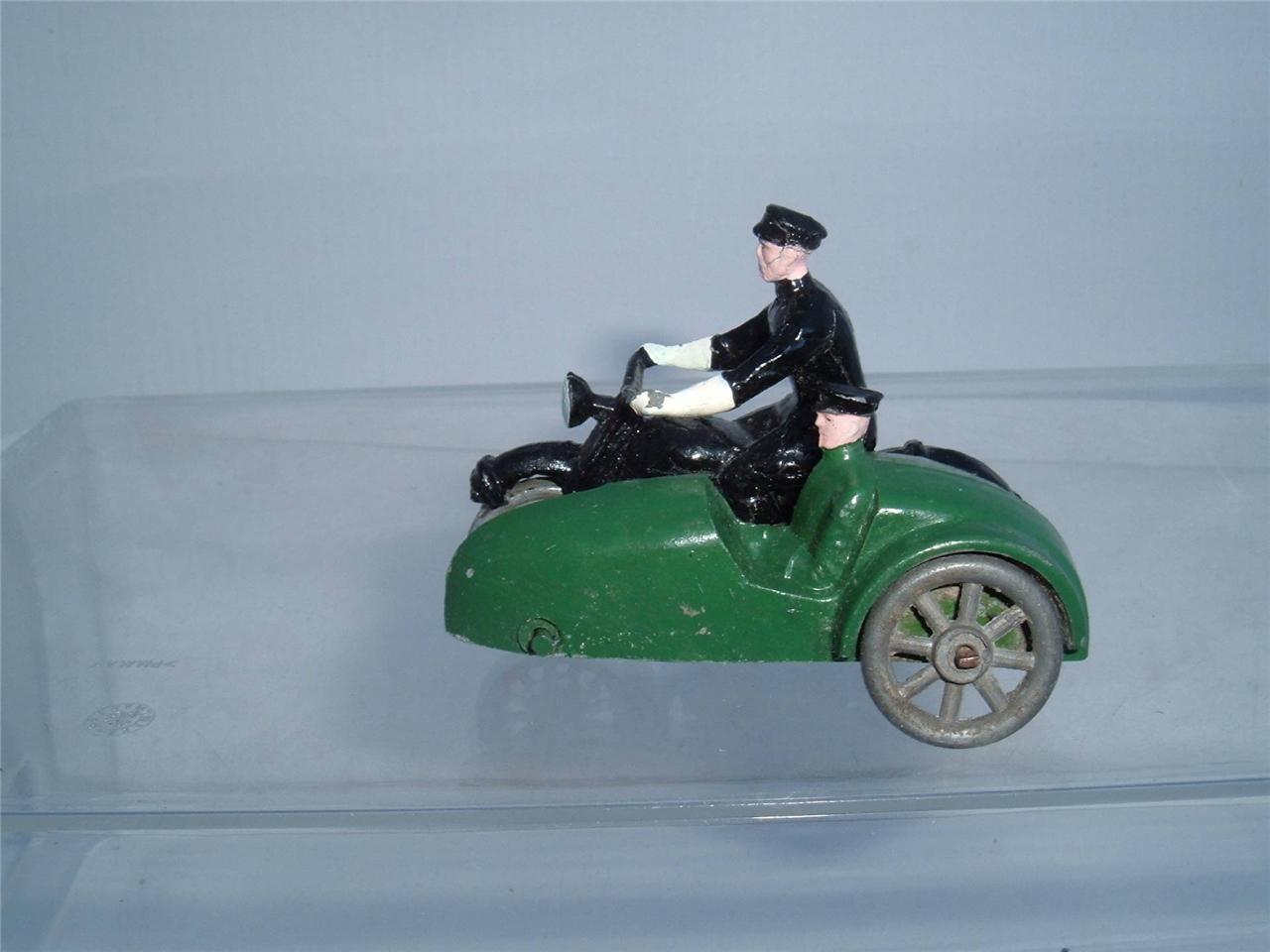 Sconosciuti IN METALLO MOTO & carrozzino combinazione in Painted scorrere verso il basso per foto