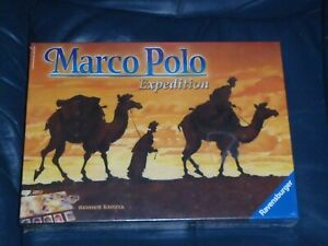 Ravensburger-multilingual-Reiner-Knizia-MARCO-POLO-EXPEDITION-Board-Game-NEW