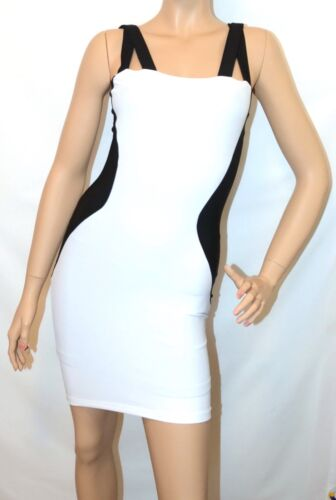 Boulee Katie White Double strap Scuba dress size 0//2//4