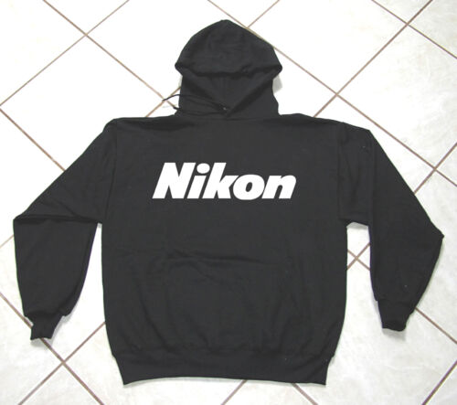 Gildan Professional Classic Camera Heavy Weight Black Sweat Shirt Nikon