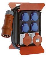 Stromverteiler Mobilverteiler Steckdosenverteiler CEE 16A/32A  4x Schuko (60506)