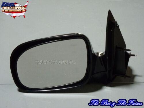 Black Outer Door Mirror Glossy Manual Left GB-MR-CVV2037A1L1