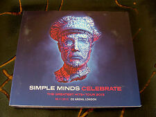 Slip Double: Simple Minds : Celebrate Greatest Hits +  Tour 2013 London O2 Arena