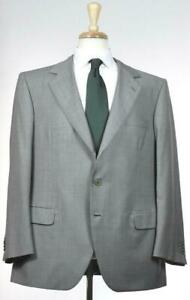 Brioni-Mens-Bespoke-3-BTN-Gray-Wool-Classic-Fit-Suit-Size-54-44-S-NEW-6600